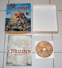 Gioco Pc cd CIVILIZATION III 3 Più civ che mai ITA Box 2002 Sid Meier's
