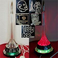Night Lamp Space Rocket Symbol Gagarin VTG Soviet SOUVENIR SPUTNIK+ 2 spare lamp