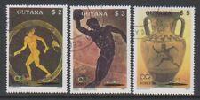 Guyana - 1987 Summer Olympics set - CTO - SG 2061/3