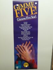 "CBS FOX HOME VIDEO ENTERTAINMENT ""GIMME FIVE STAR"" PROMOTIONAL POSTER 1988"