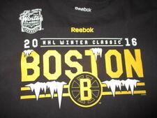 2016 BOSTON BRUINS vs CANADIENS Winter Classic - FOXBORO (XL) U Shirt w/ Roster
