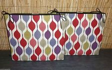 Abstract Square Garden & Patio Furniture Cushions