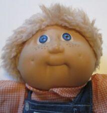 Vintage CPK CABBAGE PATCH KIDS Boy Doll blonde shag freckles dressed JESMAR