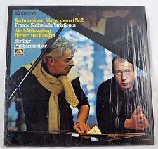 *-Vinyl-LangSPIELplatte - RACHMANINOW Klavierkonzert Nr. 2 - Herbert von KARAJAN