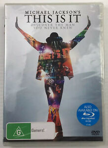 MICHAEL JACKSON This Is It DVD Discover The Man You Never Brand New Sealed