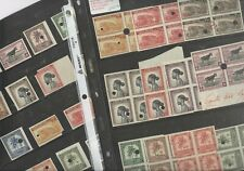 BELGIAN CONGO Wonderful Assortment of MINT NH Proofs of Stamps w/Printer's marks