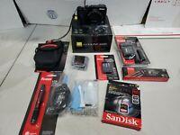 Nikon COOLPIX A1000 Digital Camera 35x Zoom 4K UHD Video FULL KIT 64GB *MINT*