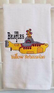 Yellow Submarine Hand Towel