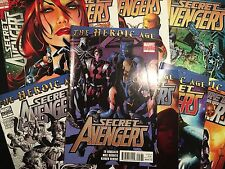 Secret Avengers Issue 1-9 Special Variant Editions - Marvel Comics