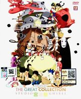 Studio Ghibli The Great Collection (29 in 1 Movie Box) ~ 12-DVD SET ~ All Region