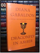 Dragonfly In Amber ✎SIGNED✎ by DIANA GABALDON Brand New Outlander Hardback #2
