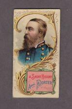 1889 N78 W.Duke Sons & Co. Histories of Generals Adm'L Porter