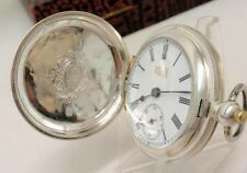 ANTIQUE FRENCH POCKET WATCH CHINA DUPLEX SILVER FOR CHINESE MARKET