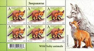 2020 Belarus Fox Wild Animals MNH