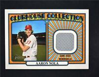 2021 Heritage Clubhouse Collection Relic #CCR-AN Aaron Nola