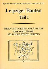 Leipziger Bauten, Teil 1 Wohnungs- und Gesellschaftsbau, 1990 Leipzig == Chronik