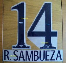 AMERICA DE MEXICO 2014-15 R. SAMBUEZA AUTHENTIC NAME AND NUMBER HOME SET