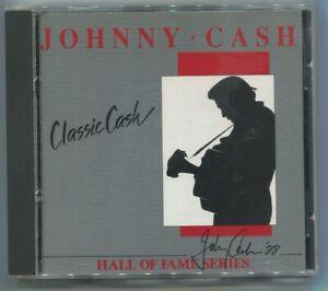 CD Johnny Cash: Classic Cash (Mercury) 1988