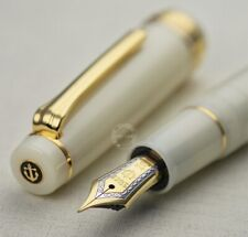 WANCHER×SAILOR PROFESSIONALGEAR 21K Limited fountain pen Ivory white