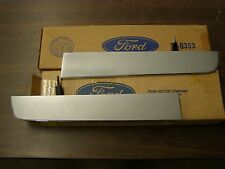 NOS OEM 1967 Ford Mustang Standard Grille Bars Ornaments Wings