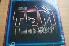 "THIS IS ""TOM JONES"", 12"" VINYL LP 33RPM, LONDON RECORDS, 1969,  PAS 71028"