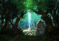 Zelda Sword in the Stone - High Quality  Poster 48 in x 32 in - Fast Shipping