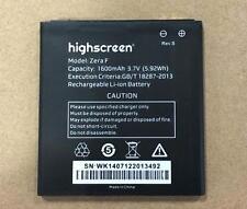 Bateria reemplazo 1600 mah para highscreen Zera F Rev.S
