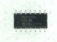 4 PCs mcp6022-i//sn microchip opamp 10mhz rail-to-rail SOIC 8 New #bp