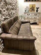 De Sede Canapé Cuir Design Vintage Luxe Desede Fauteuil Sofa Swiss Suisse