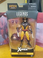 Marvel Legends Wolverine Brown Suit w/ Juggernaut Baf
