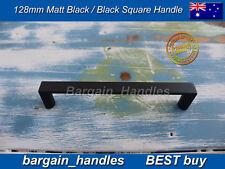 Black Square Handle/D-Square pullers Kitchen cabinets door handles 5x128 bestbuy