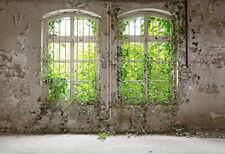 Photography Backdrop Abandoned Warehouse 10ft x 6.5ft