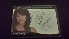 Brit Morgan AUTO True Blood Riverdale Supergirl