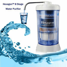 Hexagon Water Systems-8 Stage Filtration Healthy Water + Replacement Cartridge