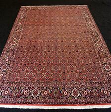 Orient Teppich Rot 286 x 198 cm Perserteppich Herati Muster Handgeknüpft Carpet