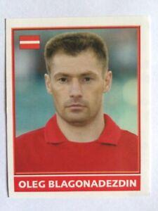 Merlin England Euro 2004 Sticker Oleg Blagonadezdin - Latvia (No number)