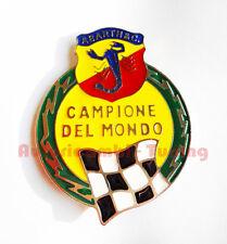 FREGIO ABARTH CAMPIONE DEL MONDO METALLO FIAT 500 EPOCA A067