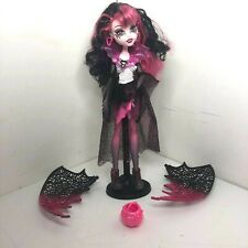 Muñeca Monster High Ghouls Rule Draculaura Desmontable Alas Rosa + Negro