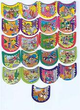 LOONEY TUNES Complete 21 Loki Tazos Pogs Toys Collection VINTAGE RARE FIGURES