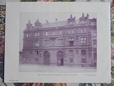 1903 Zeitungsdruck 1 / Berlin Universitätsstraße Pourtales Palais