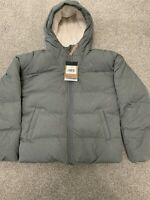 New The North Face Girls' Moondoggy Down Jacket Coat 550 Down Gray Size XL (18)