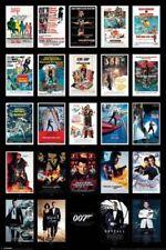 James Bond Movies Art Posters