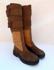 TUFFA  SUFFOLK BROWN LEATHER EQUESTRIAN RIDING WALKING BOOTS SIZE 39 US / 8-8.5
