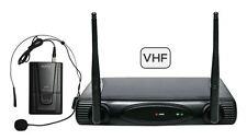 Radiomicrofono Archetto Microfono Radio Wireless Senza Fili set 6080LAV