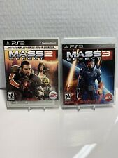 Mass Effect 2 & 3 Lot PS3 Sony Playstation 3 Complete