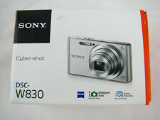Sony Cybershot DSC-W830 BLACK Digital Camera  20.1 Mega Pixels 8x Optical Zoom