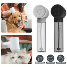 Electric Automatic Pet Dog Cat Bathing Washing Massager Relax Bath Massage Brush