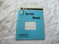 International Harvester Onan engine service manual for 982 cub cadet tractor