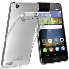 COVER Custodia MORBIDA TPU TRASPARENTE Silicone GEL per Huawei P8 LITE SMART