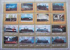 Umm al Qiwain - Big Sheet Trains used